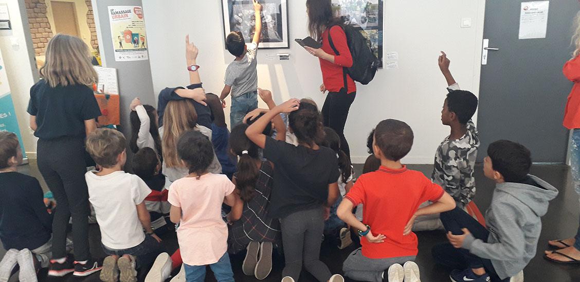 Atelier Couture avec des enfants à Saint Priest