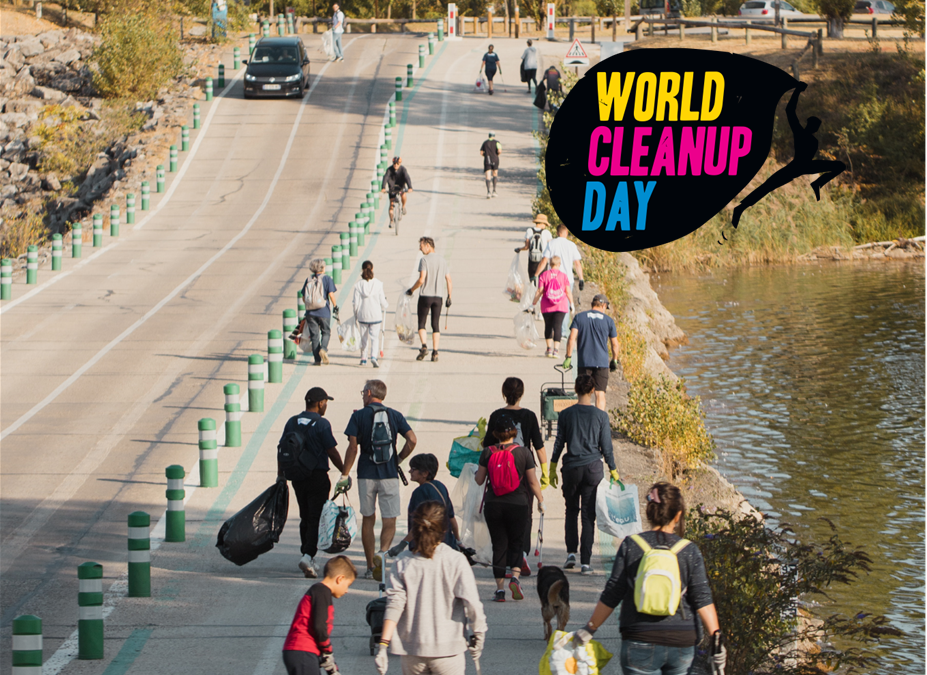 WORLD CLEANUP DAY au Grand Parc