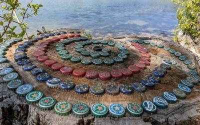 Au grand Parc, des spirales pour se ressourcer !