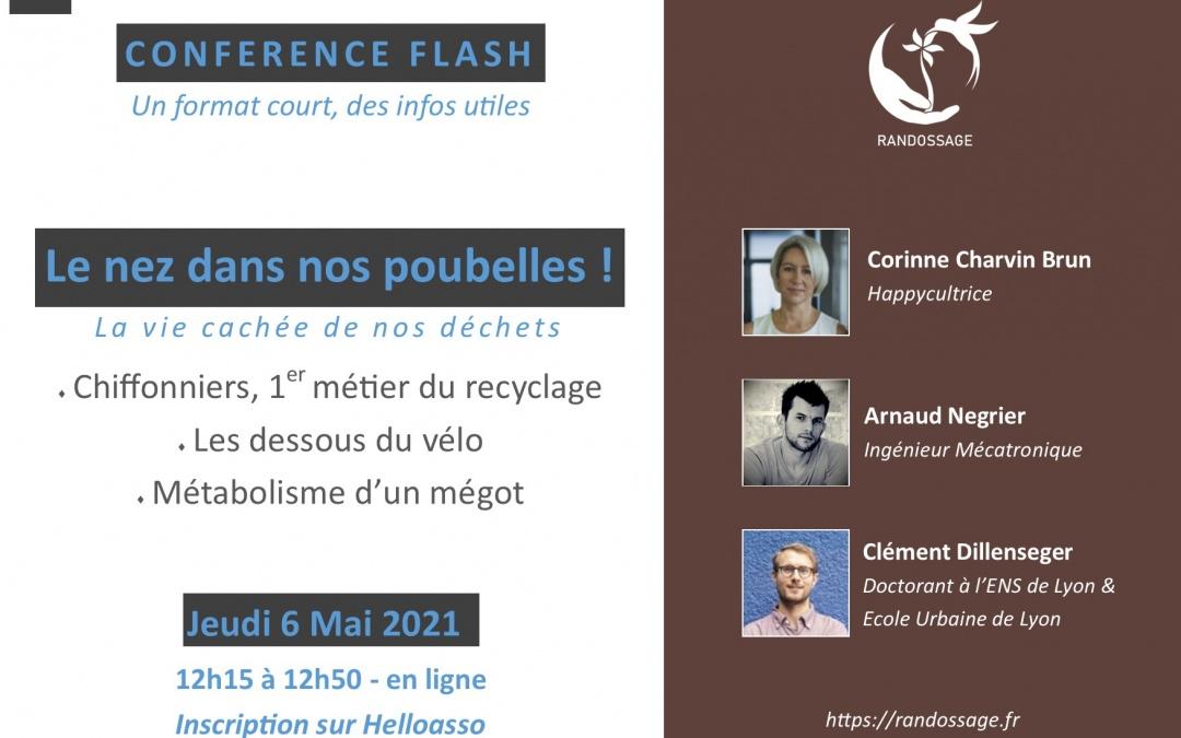 Conférence Flash : Le nez dans nos poubelles