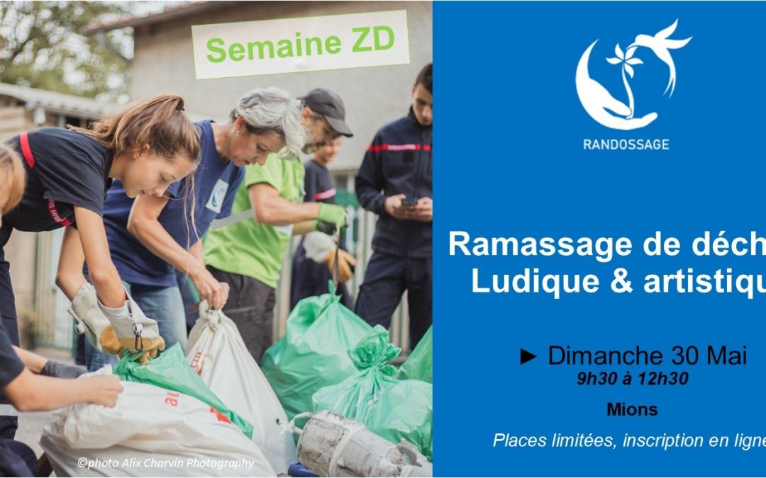Ramassage de déchets ludique à Mions