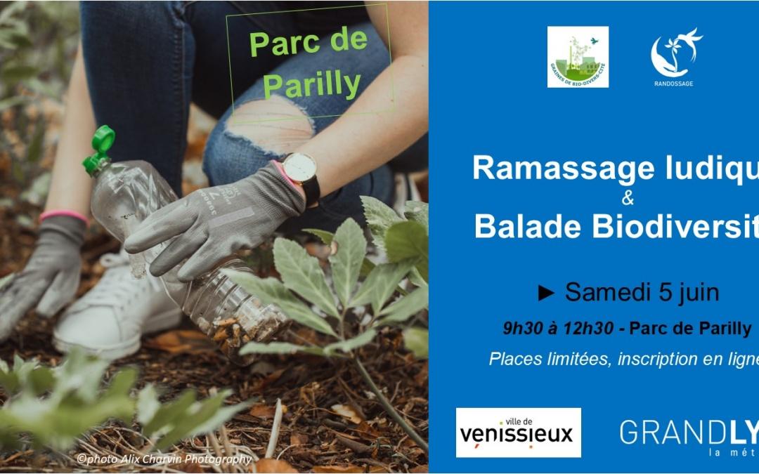 Ramassage ludique & Balade Biodiversité