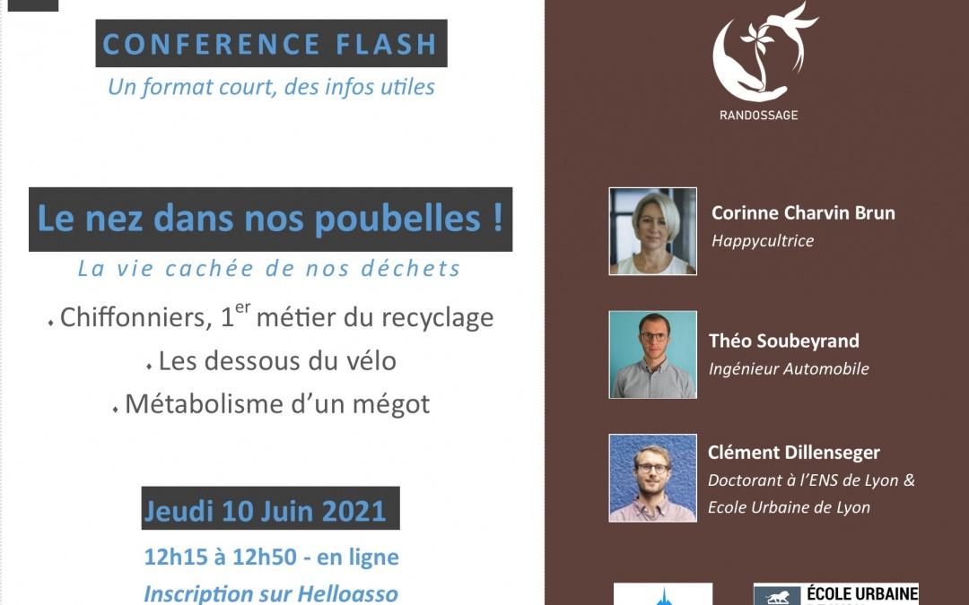 Conférence Flash #2 : Le nez dans nos poubelles