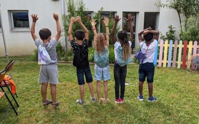 Couture en autonomie pour des enfants de Saint Priest
