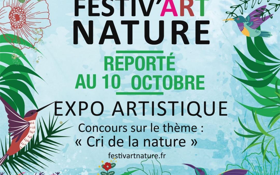1er Festiv'Art Nature au parc de Parilly