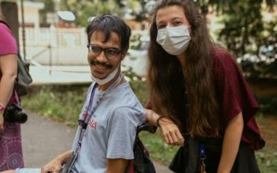 Une histoire d'amitié grâce aux déchets #inclusion heureuse !