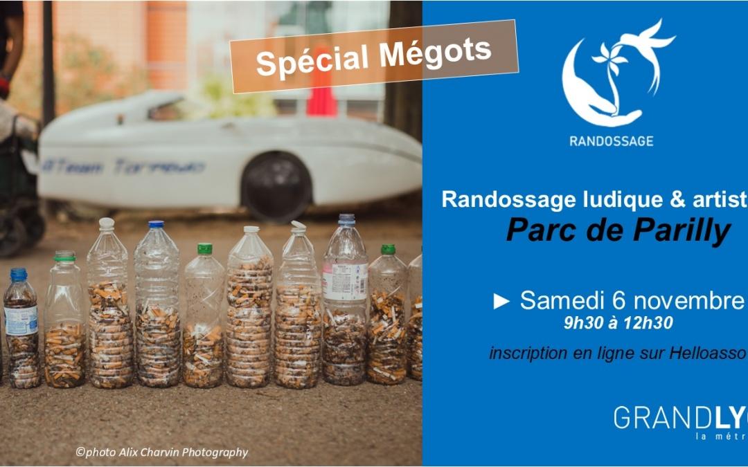 Randossage Spécial Mégots à Parilly